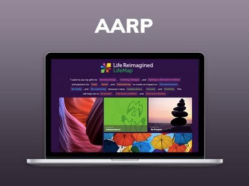 AARP Life Reimagined - Website Creation