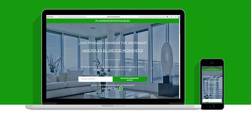 Plan Renove Ventanas - Creación de Sitios Web