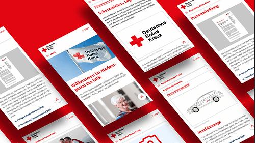 Deutsches Rotes Kreuz – Rebranding - Grafikdesign