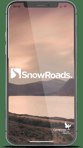 Snow Roads website / apps - Mobile App