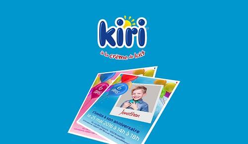 Birthday Activation - Kiri - Stratégie digitale