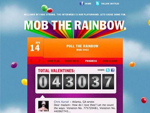 MOB THE RAINBOW - Advertising