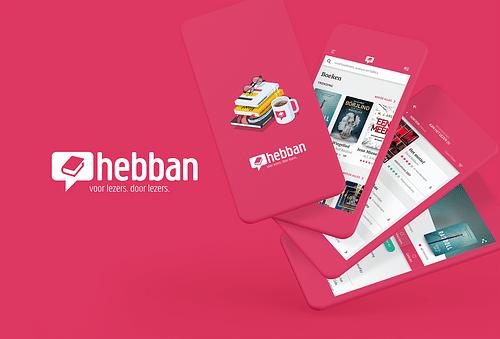 Hebban boeken community app - Mobile App