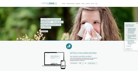 Allergiecheck.de – Nutzung von Synergieeffekten...
