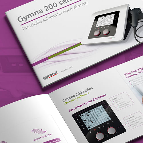 Launch Campaign for the Gymna 200 Series - Image de marque & branding
