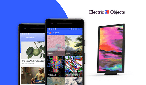 Electric Objects - Mobile App