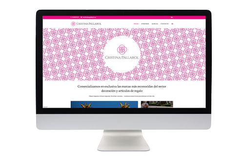 Web Cristina Pallarol S.L. - Creación de Sitios Web