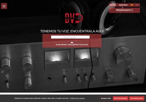 Web danivoiceovers.com - Creación de Sitios Web
