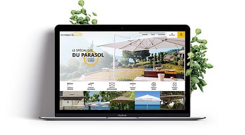 Création du site E-commerce La Maison du Parasol