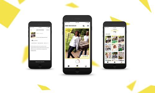 L'Oréal Citizen Day - application interne - Application mobile