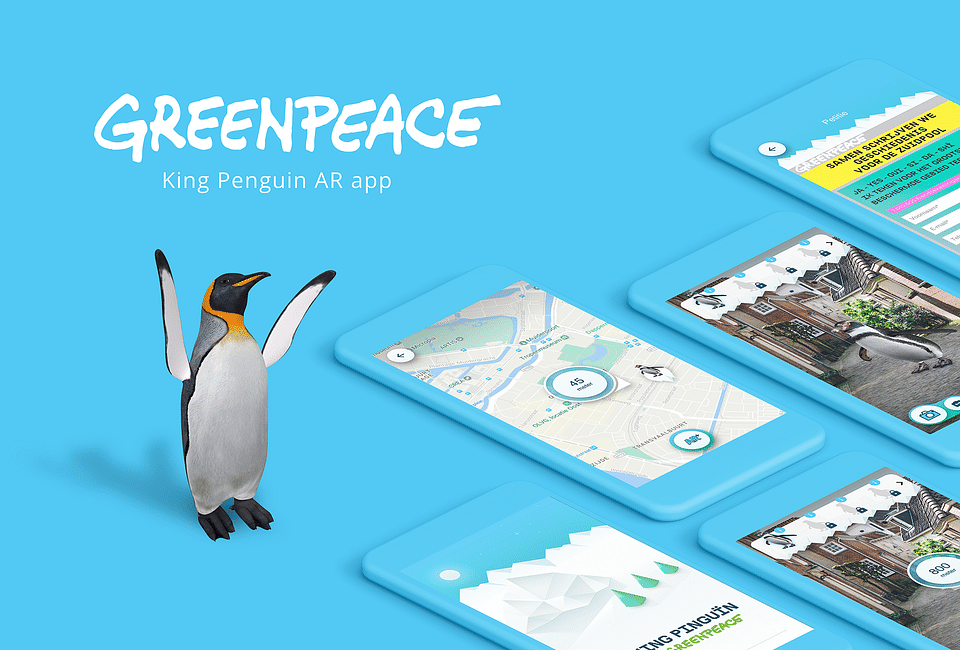 King Penguin - Greenpeace AR