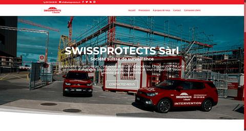Swissprotects (Sécurité) - Site web