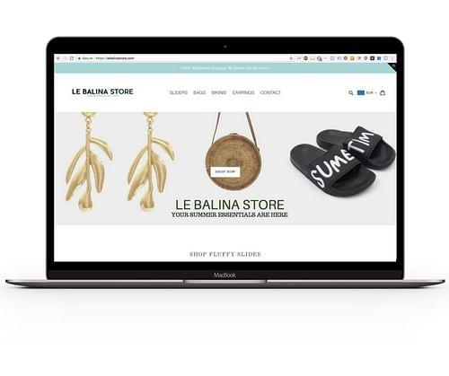 Le Balina Store - E-commerce