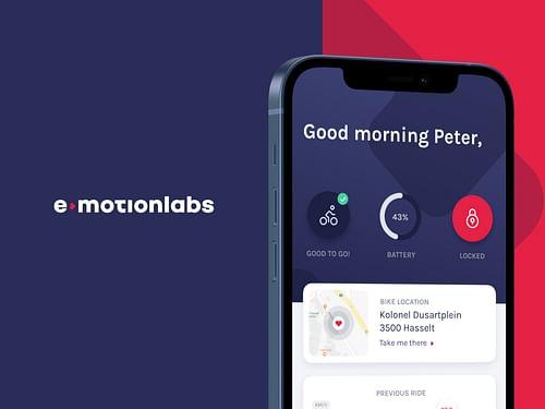 E-motionlabs - Application mobile