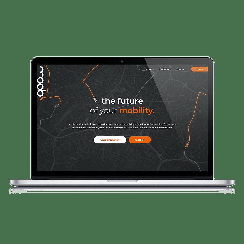 Moobi - Website, Logo creation & branding