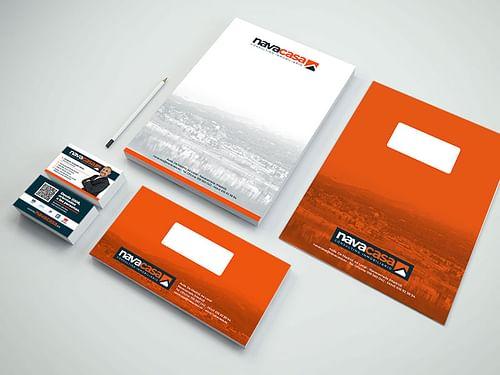 Imagen Corporativa Navacasa - Diseño Gráfico