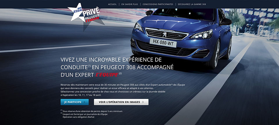 Peugeot France National Campaign