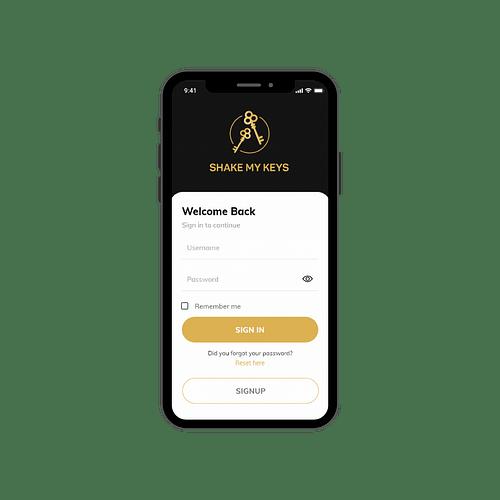 Mobile App for Concierge - Création de site internet