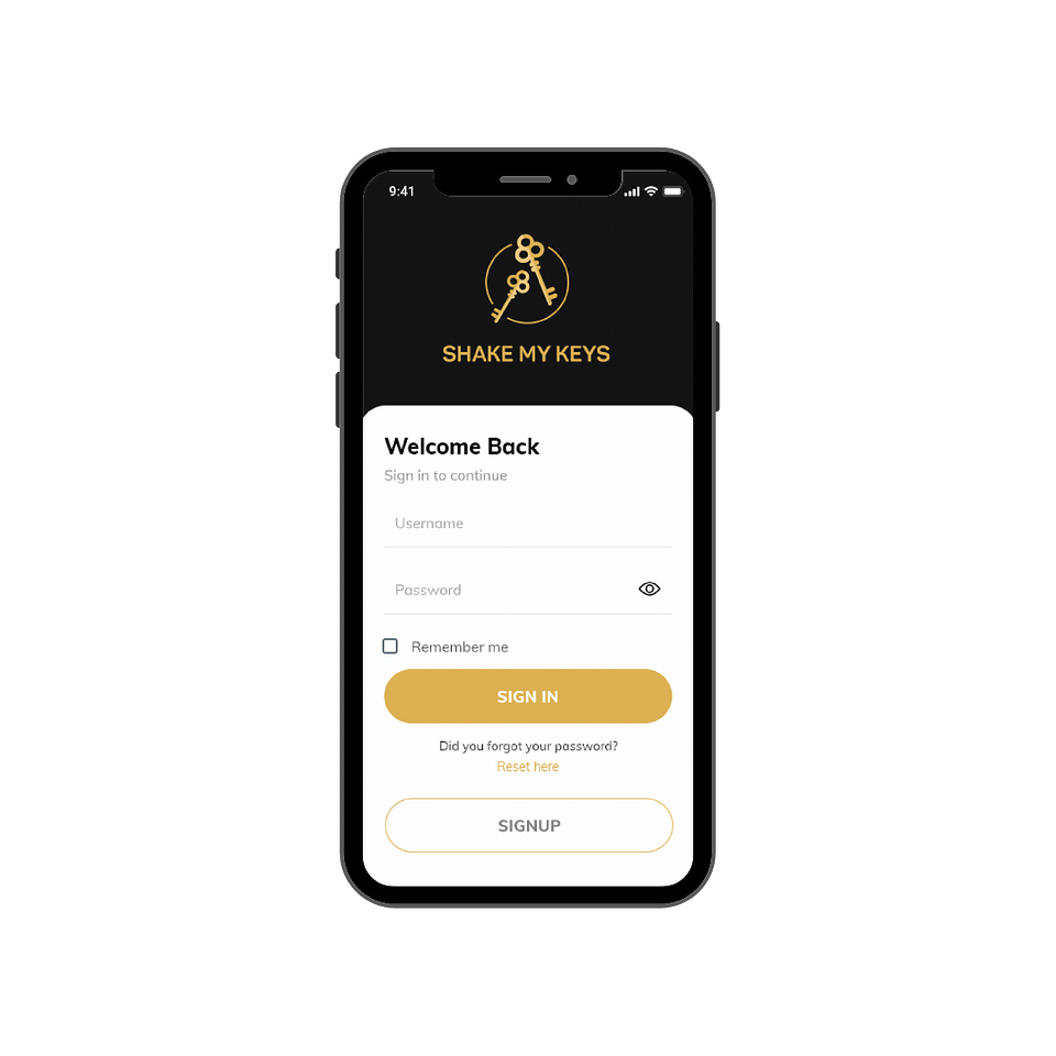 Mobile App for Concierge