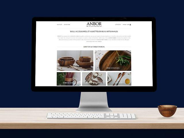 """Construction boutique e-commerce - """"ANBOR"""""""