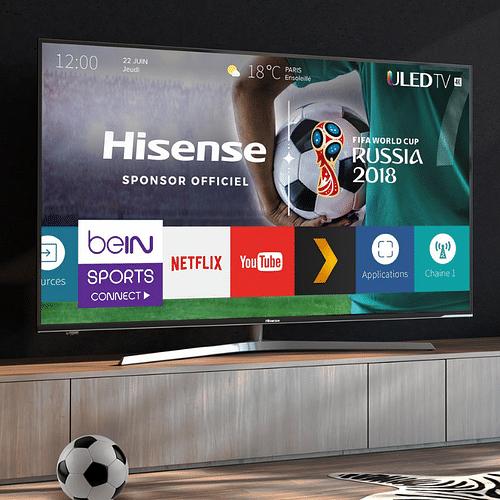 Hisense - partenaire officiel FIFA 2018 - Relations publiques (RP)