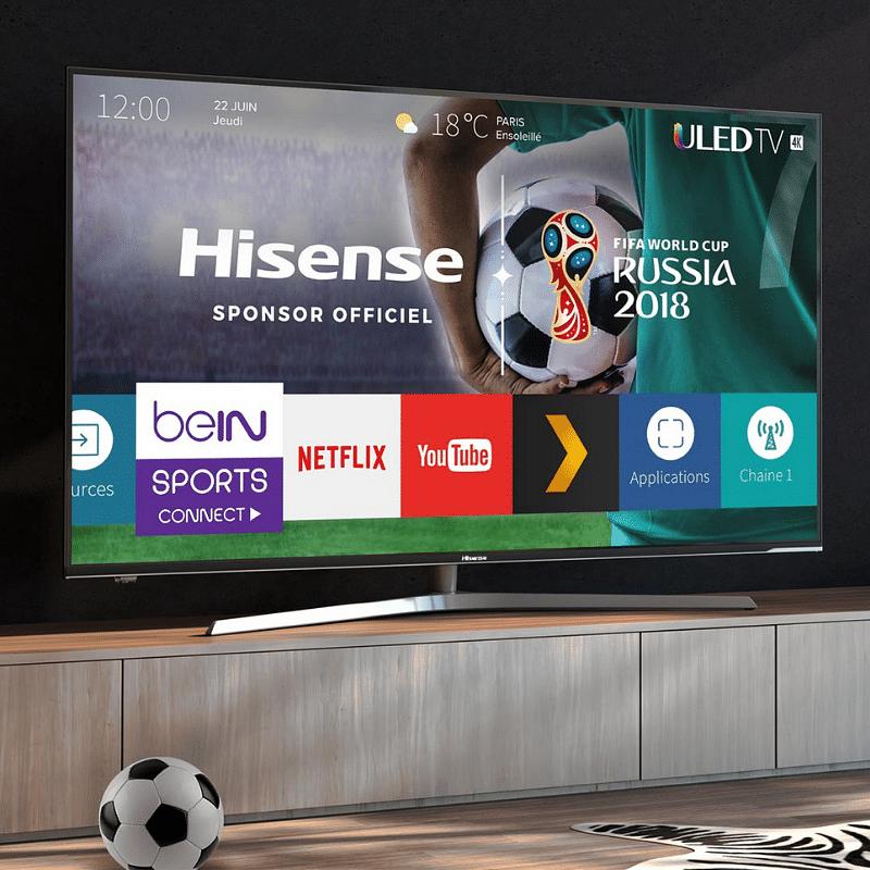 Hisense - partenaire officiel FIFA 2018