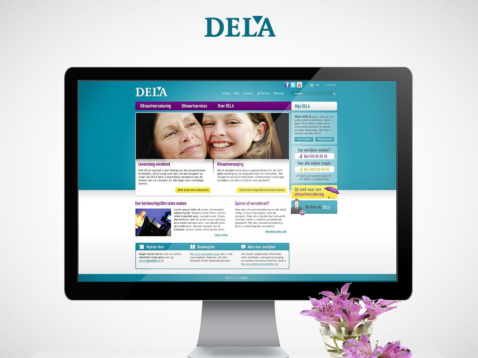 DELA: Online marketing