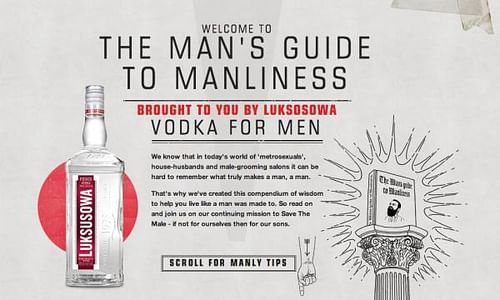 The Man's Guide To Manliness - Advertising