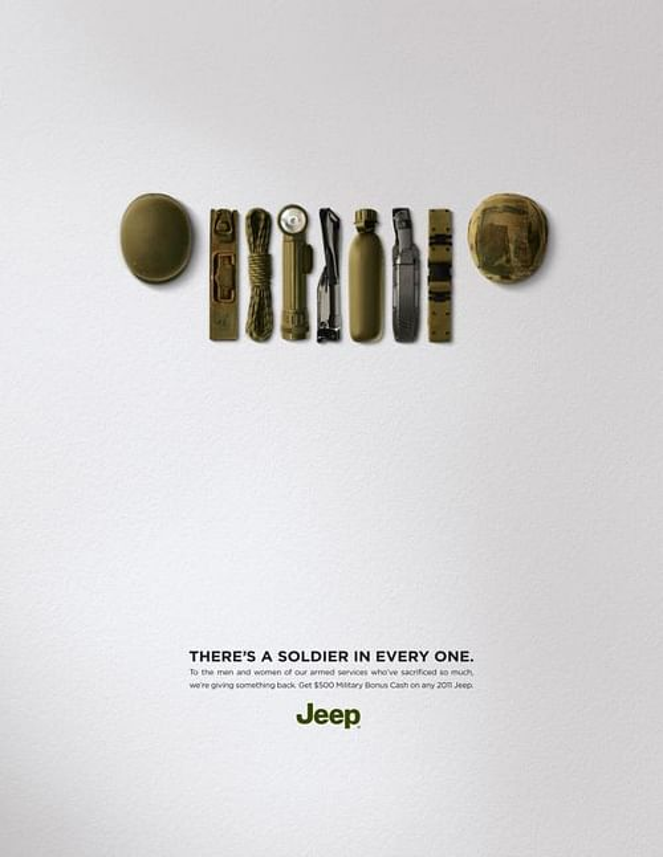 Soldier - Advertising