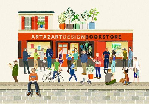 E-commerce : librairie Artazart - Canal St-Martin - Création de site internet