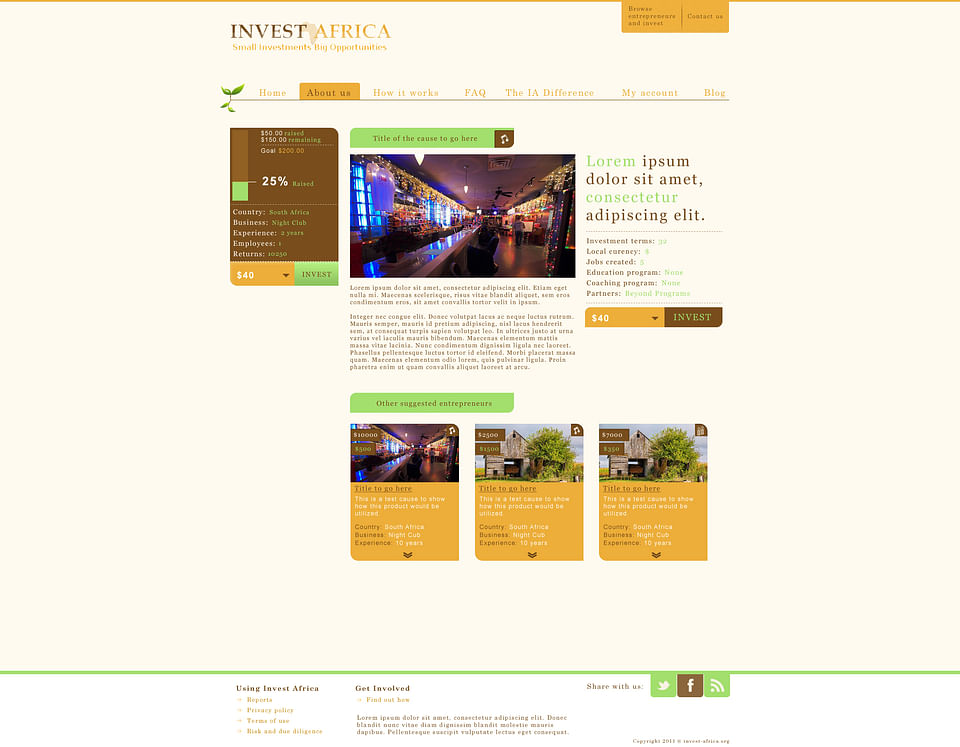 Création de site internet I Identité visuelle