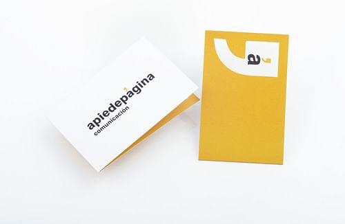 Website design and brand identity for Apiedepágina - Creación de Sitios Web