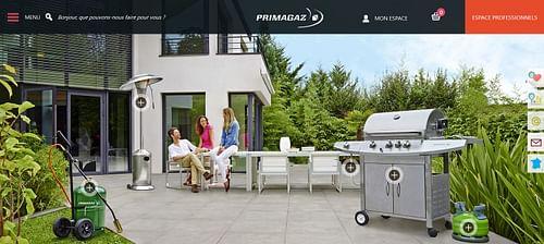 Boutique Primagaz - E-commerce