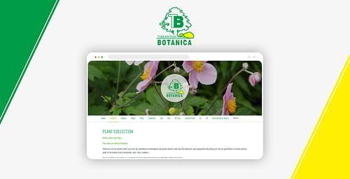Botanica Website & Webshop - E-commerce
