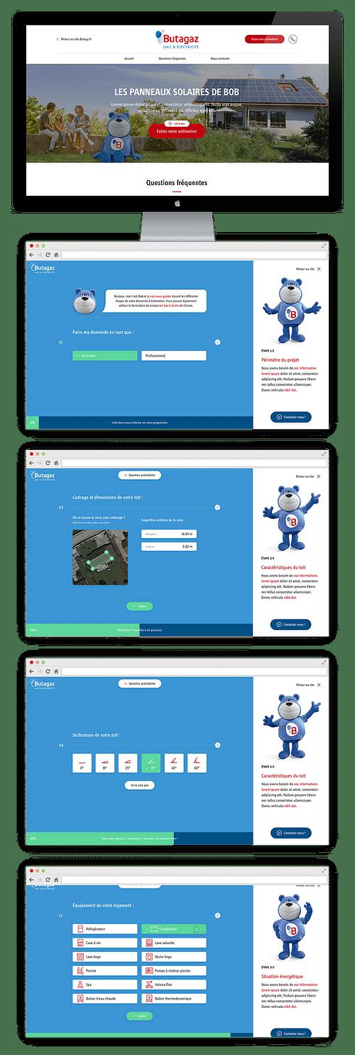 BUTAGAZ - souscription en ligne - Création de site internet