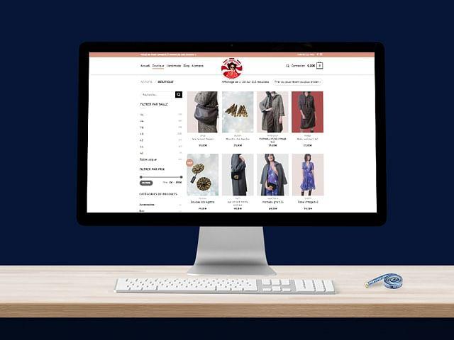 """Création de site e-commerce -  """"Psychofripes"""""""