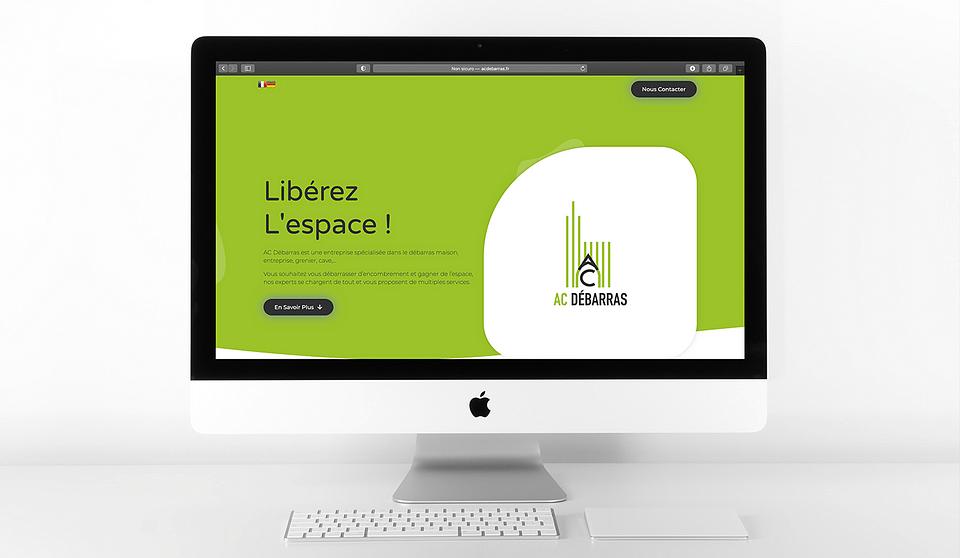 Création de site internet pour AC Débarras