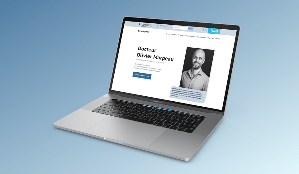 Site vitrine : Chirurgien Gynécologue