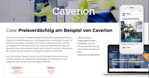 Caverion Deutschland GmbH - Digitale Strategie