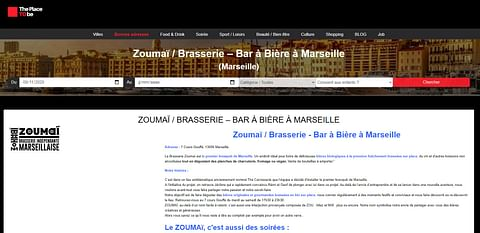 Bar à bière à Marseille