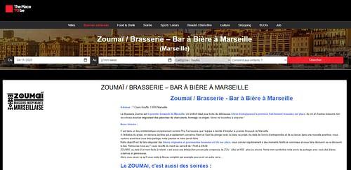 Bar à bière à Marseille - Référencement naturel