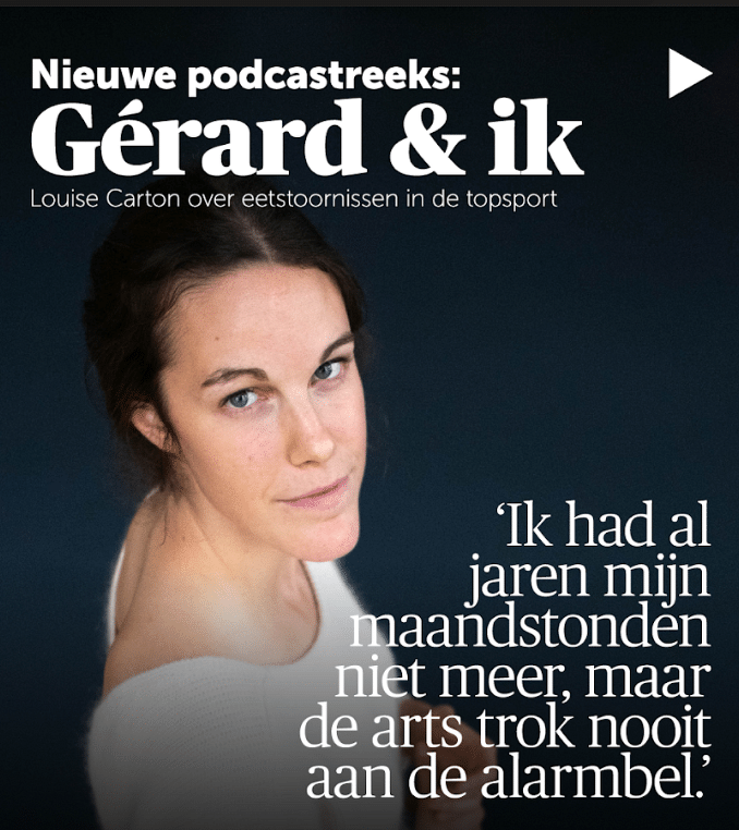 Podcast Louise Carton: Gérard & ik