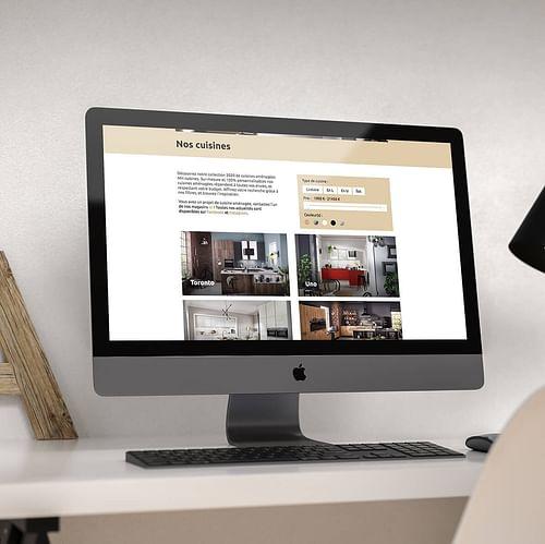 Site Web Wordpress MH Cuisines - Design & graphisme