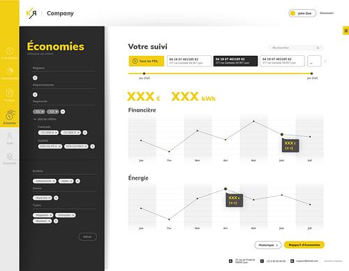Espace client KOURA - Application web