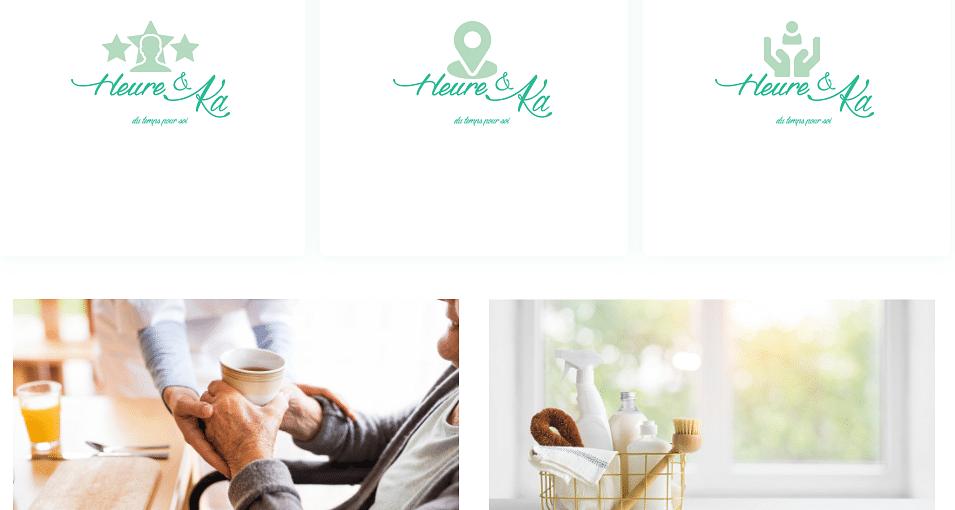 Site vitrine commerce indépendant heureetka.fr
