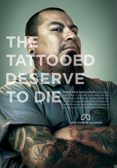 Tattooed - Advertising
