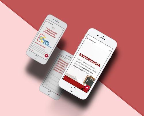 Diseño web corporativo - Diseño Gráfico