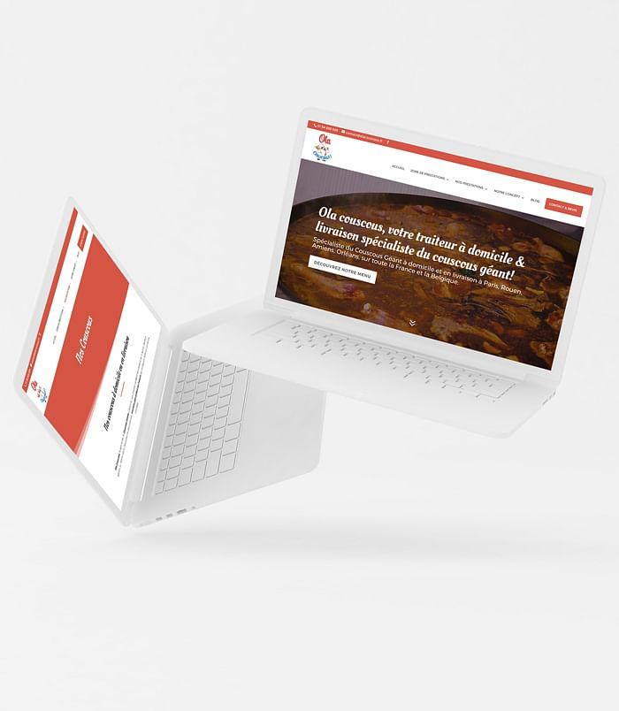 """Création du site """"Olacouscous.fr"""""""