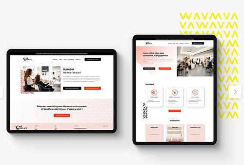 The Wave - Coworking - Création de site internet