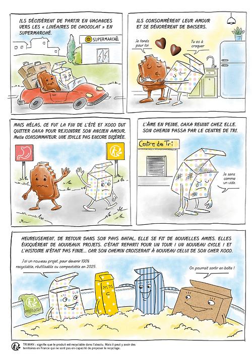 Création d'une bande dessinée - CÉMOI - Image de marque & branding
